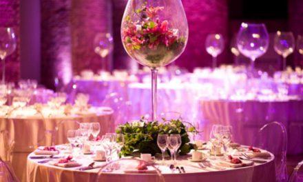 Decoration mariage, une table de fête