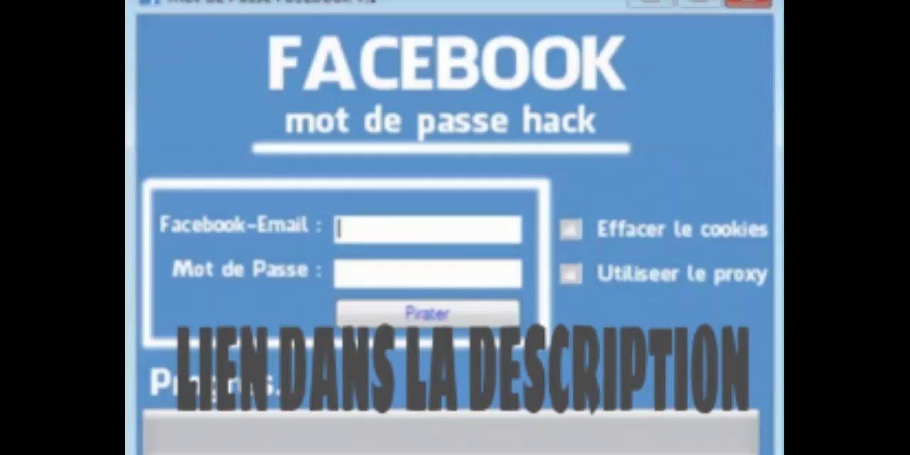 Comment pirater un compte facebook ?
