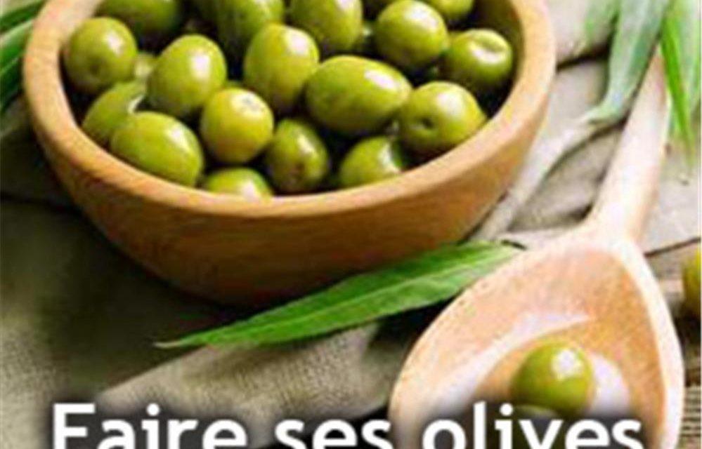 Comment preparer les olives ?